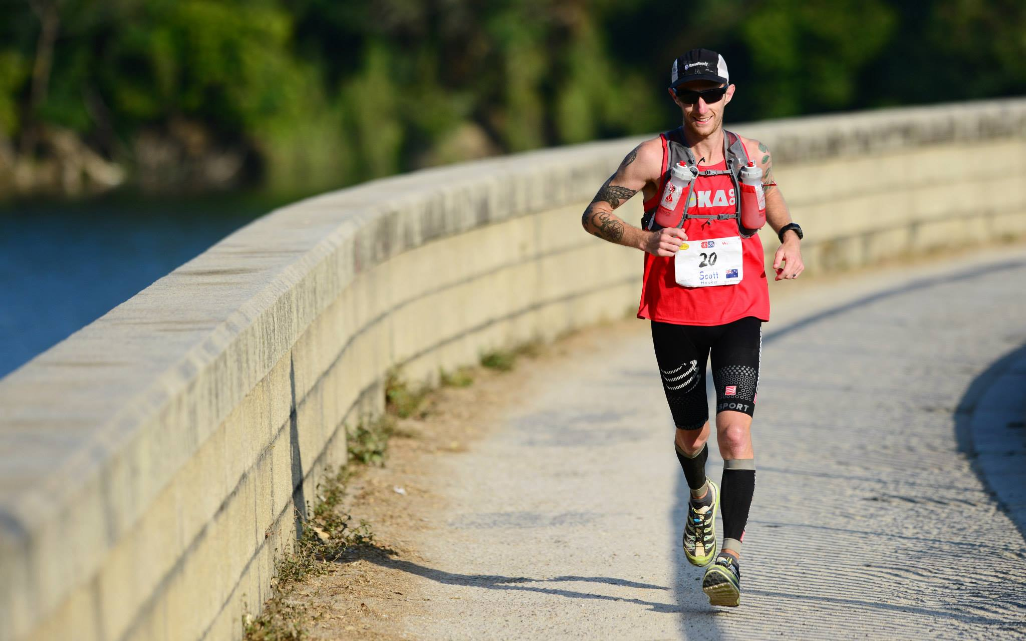 Scotty looking strong in the HK100