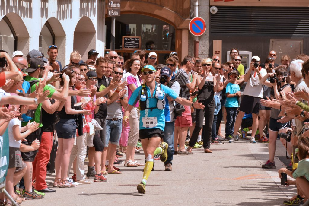 Ben Duffus finishing the World Sky Running Championships 2014